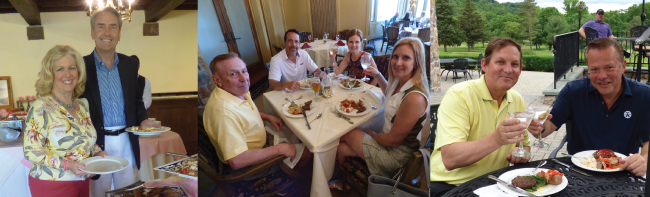 Dining at Lake Mohawk Country Club